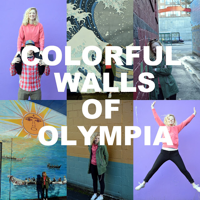 colorful walls in Olympia Washington