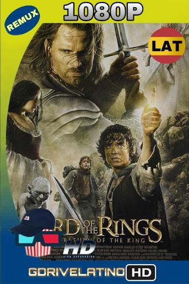 El Señor de los Anillos: El Retorno del Rey (2003) Extendida BDRemux 1080p Lat-Ing mkv