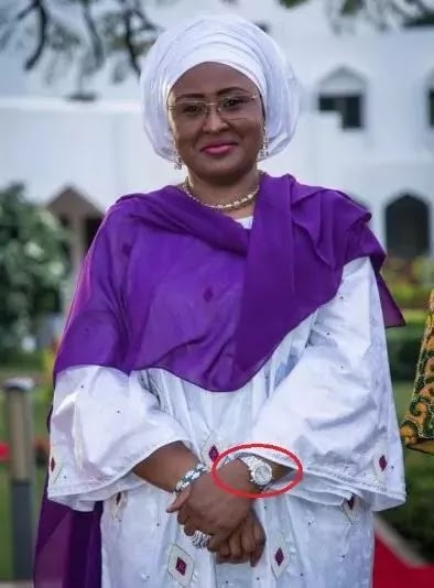 3 times Aisha Buhari has shown off her wealth - Aisha Buhari wearing a Chopard watch raised some eyebrows.