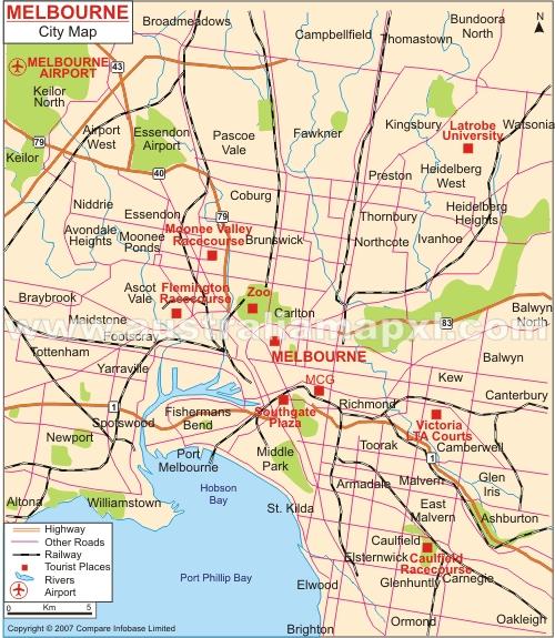 Melbourne Florida Attractions Map Jerusalem House