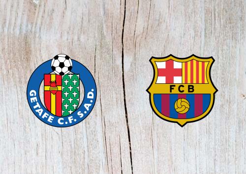 Getafe vs Barcelona Full Match & Highlights 6 January 2019