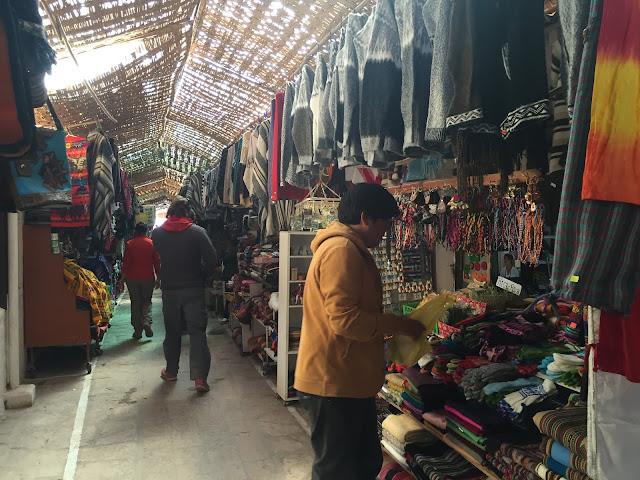 Feira de artesanato em San Pedro de Atacama
