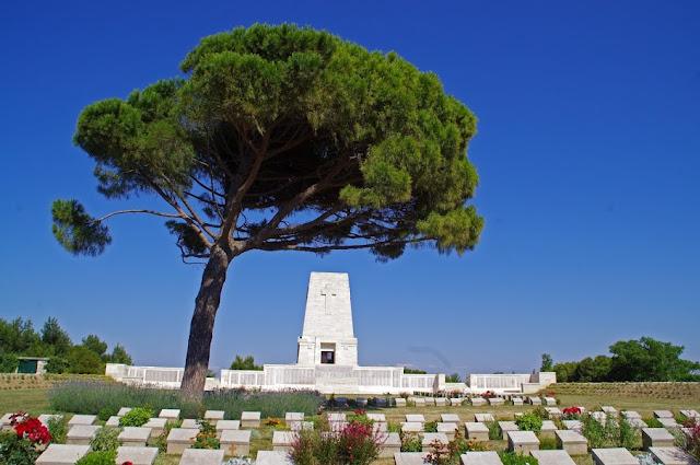 Lone Pine Cemetery Gallipoli