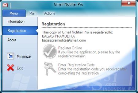 Gmail Notifier Pro 3.0.2 + Key Maker 4