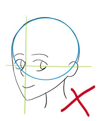 Dessiner un visage manga de côté: les erreurs à ne pas faire
