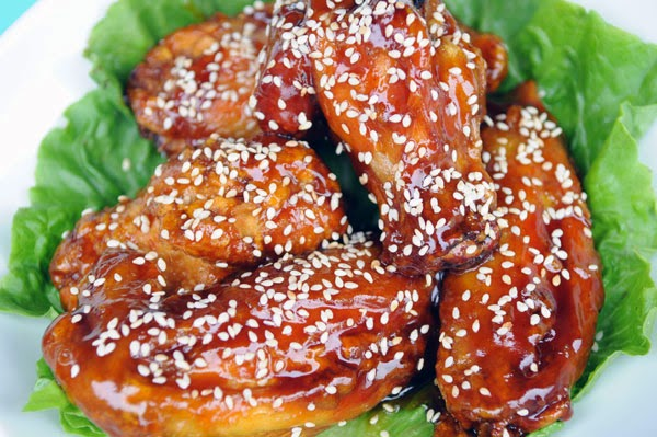 Sesame Chicken Wings Recipe