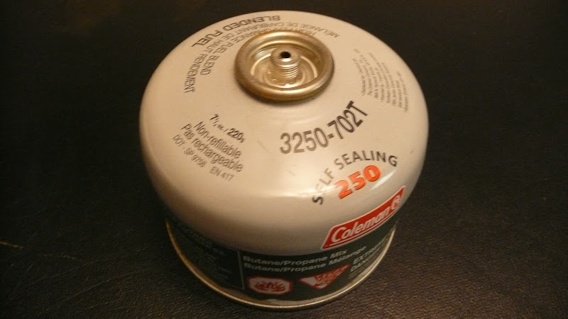 Adventures In Stoving: Refilling Gas Canisters
