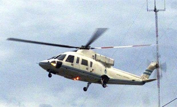 Όταν ο πρόεδρος της Αργεντινής Φερνάντο ντε λα Ρούα έφευγε με ελικόπτερο για να γλυτώσει απο την οργή του λάου...!!!