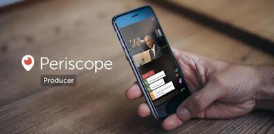 تويتر توفر خدمة Periscope Producer للبث المباشر للجميع