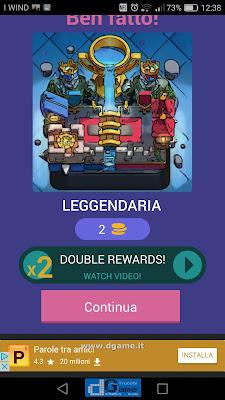 Indovina la carta Royale soluzione livello 94