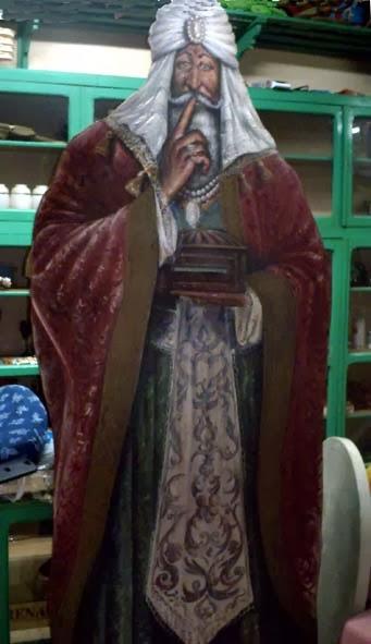 Rey Mago en El Agora de Villanueva del Campo