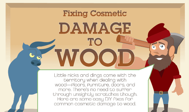 Fixing Cosmetic Damage to Wood