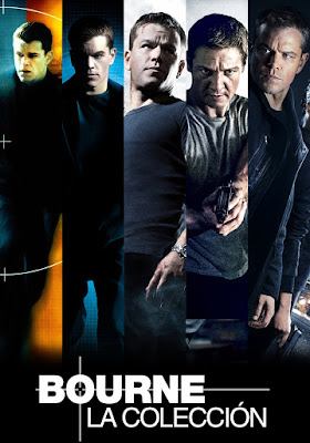 The Bourne Colección DVD R1 NTSC Latino