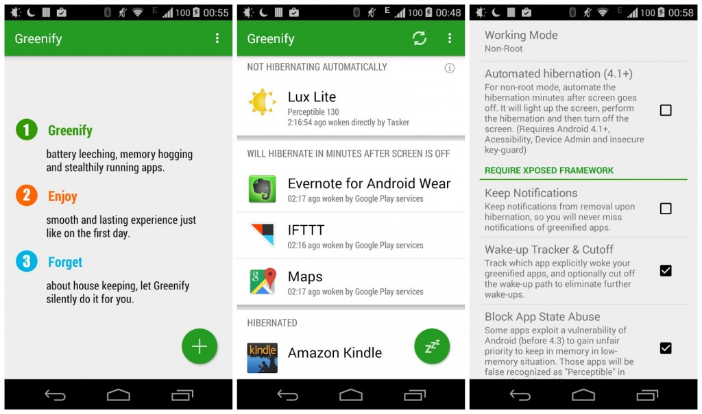 Greenify Donate v3.9.3 build 39300 Cracked For Android