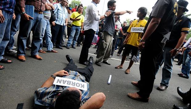 Serang Warga Dengan Parang, Geng Motor Sukabumi Ini Diamankan Polisi