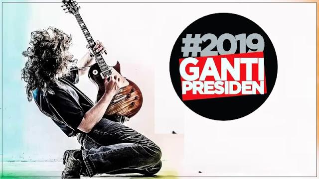Setelah Kaos, Kini #2019GantiPresiden Ada Lagunya, Keren Abis!