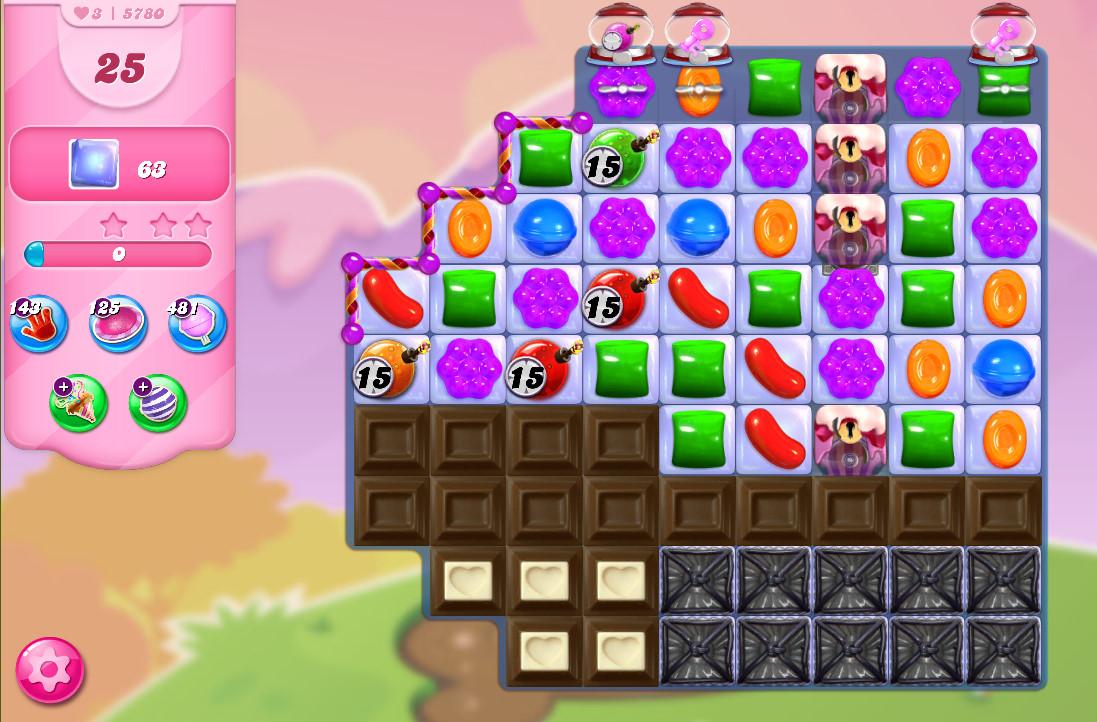 Candy Crush Saga level 5780
