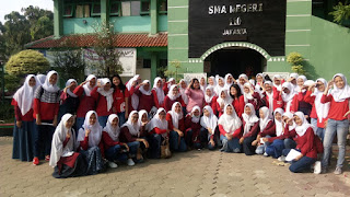 SMAN Student Visit 110 to the World Education Expo Indonesia 2018