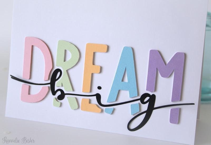 Free cut file - LOVEsvg - Dream big