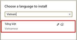 Gõ tiếng Việt trong Windows 10