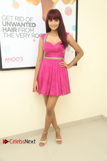 Actress Model Sharoon Pictures at Anoos Franchise Salon and Clinic Launch  0078