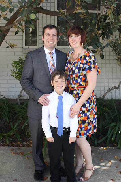 mike and I with Eyan at baptism