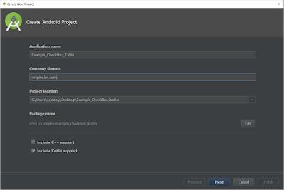 Android Studio - CheckBox Kotlin