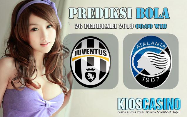 Prediksi Skor Juventus vs Atalanta 26 Februari 2018