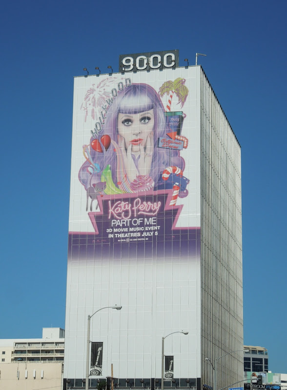 Katy Perry movie billboard