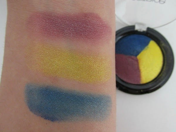Catrice Carnival of Colours LE - baked eyeshadow trio Reviews, Photos, Swatches
