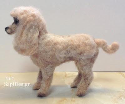 villakoira muotokuva figuuri miniatyyri villa veistos 3D SapiDesign