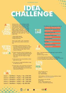 Lomba Karya Tulis Ilmiah Nasional IDEA CHALLENGE 2018 di ITB