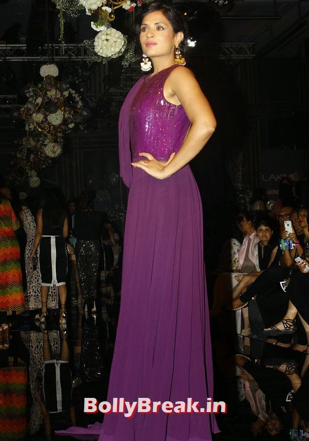 Richa Chadda, LFW 2014 Pics  - Lakme Fashion Week 2014 Photo Gallery