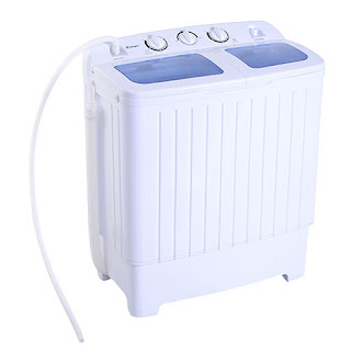 Giantex Portable Mini Washing Machine, washing machine, laundry