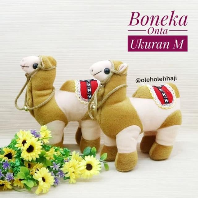Boneka Onta Ukuran M, oleh oleh haji dan umroh, perlengkapan haji dan umroh, souvenir umroh.