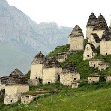 Makam Kota Orang Mati, Rusia
