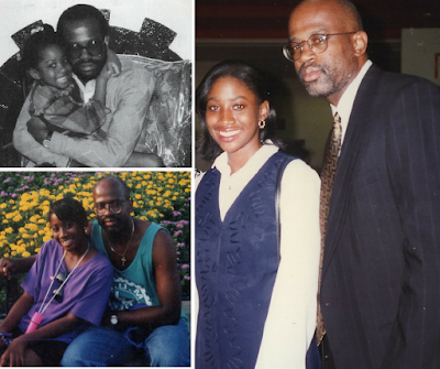 Chris Darden and Jenee Darden collage
