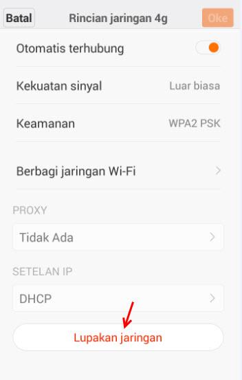 Cara Mengatasi Masalah Autentifikasi Wifi Android