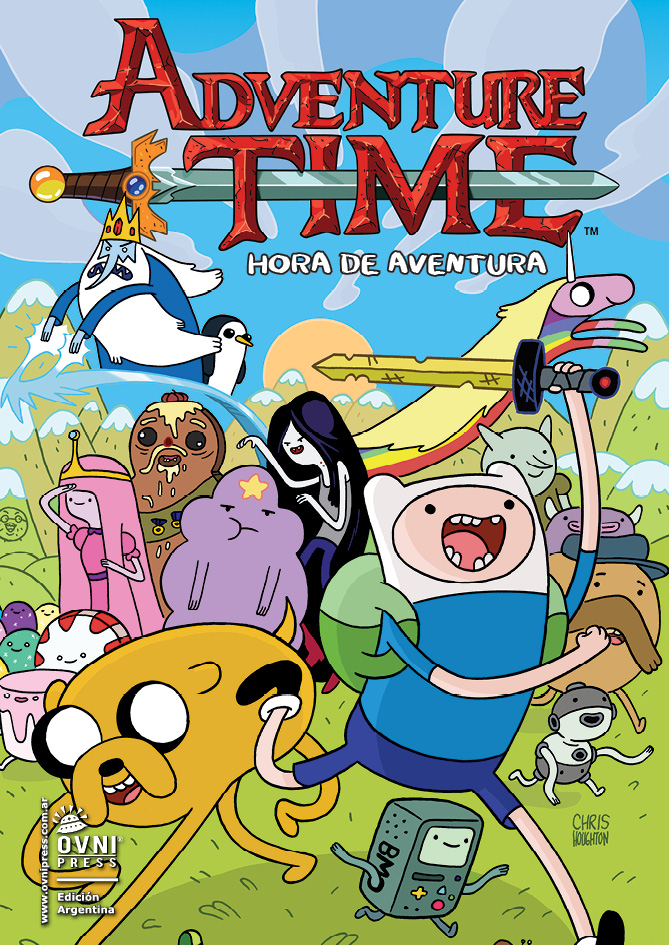 Hora de Aventura (Adventure Time) Temporada 01 Audio Latino