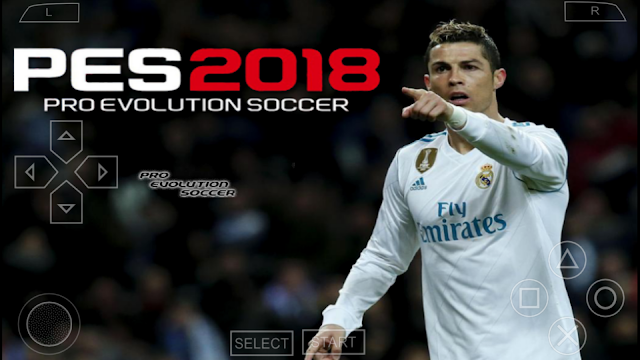 SAIU!! PES 2018 LITE 500MB PPSSPP/PSP/PC/ANDROID