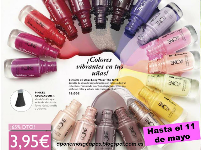 Esmaltes de uñas The One Oriflame
