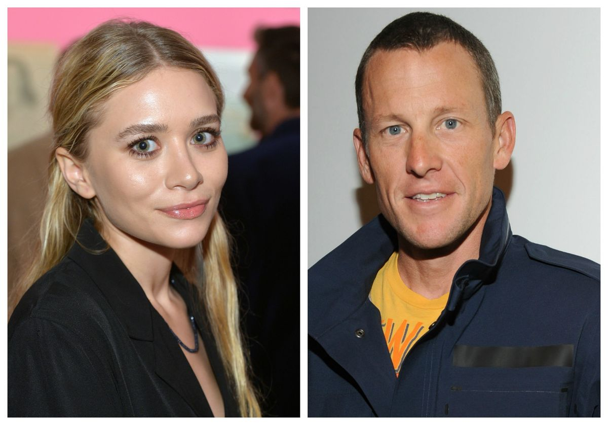 lance armstrong dating ashley olsen