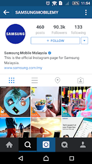 Samsung Mobile MY on Instagram