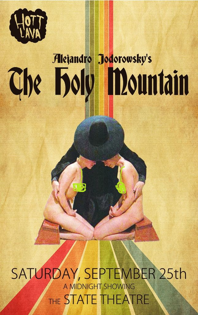 The Holy Mountain (1973) Spanish UNRATED 350MB BluRay 480p