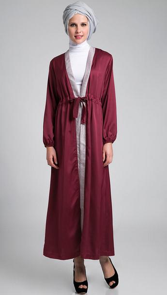 Gambar Baju Muslim Wanita Hamil Trendy 2015