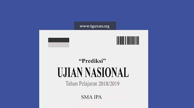 Prediksi Soal UN/UNBK SMA IPA 2019 dan Kunci Jawaban