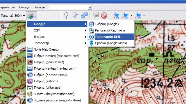 Как разработать маршрут - SAS Планета - Panoramio