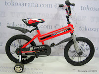 Sepeda Anak GoodWay 1601 Hummer 16 Inci