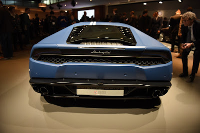 2016 Lamborghini Huracan Avio Rear HD Images