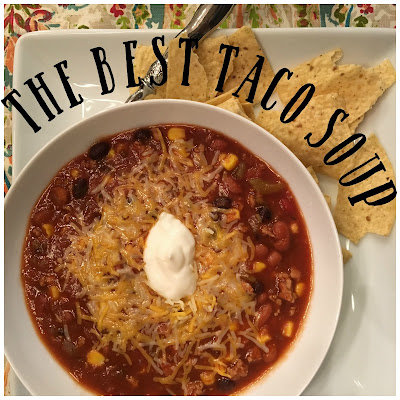 The Best (and Easiest) Taco Soup